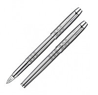 Ручка Parker 5th IM Premium Shiny Chrome Chiselled CT S0976090