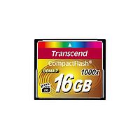 Карта памяти Compact Flash 16Gb Transcend 1000x (91118)