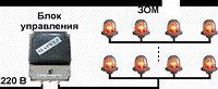 Блок управления световой маркировкой БУ-П