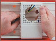 PDA-N 100 Рамка-суппорт для электроустановочных изделий 60х60 мм