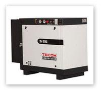 Компрессор электрический винтовой стационарный без ресивера S 110 TECOM (Турция)