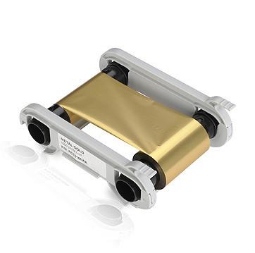 Монохромная золотая лента Evolis RCT016NAA 1000 отп.