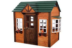 Деревянные игровые домики