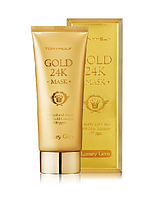 TONYMOLY LUXURY GEM GOLD 24K ВОССТАНАВЛИВАЮЩАЯ МАСКА С КОЛЛОИДНЫМ ЗОЛОТОМ