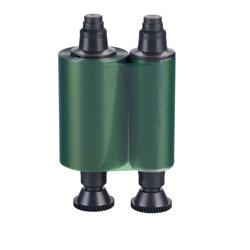 Монохромная зеленая лента Evolis R2014 1000 отп.