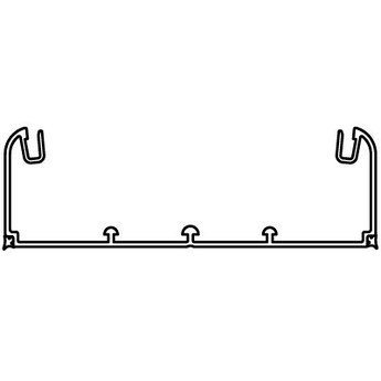 Кабель-канал 140х50 мм, без крышки