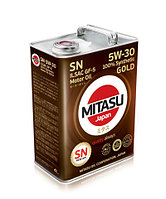 MJ-101. MITASU GOLD SN 5W-30 ILSAC GF-5 100% Synthetic