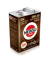 MJ-103. MITASU GOLD SN 0W-30 ILSAC GF-5 100% Synthetic