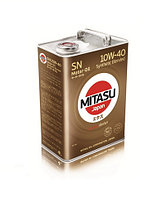 MJ-122A. MITASU MOTOR OIL SN 10W-40 Synthetic Blended
