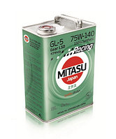 MJ-414. MITASU RACING GEAR OIL GL-5 75W-140 LSD 100% Synthetic