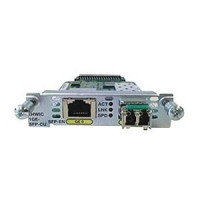Модуль EHWIC-1GE-SFP-CU Cisco EHWIC 1 port dual mode SFP(100M/1G) or GE(10M/100M/1G)