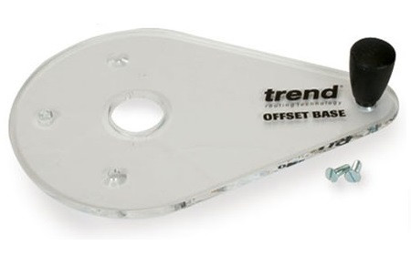 База фрезерная Trend Offset Router Base