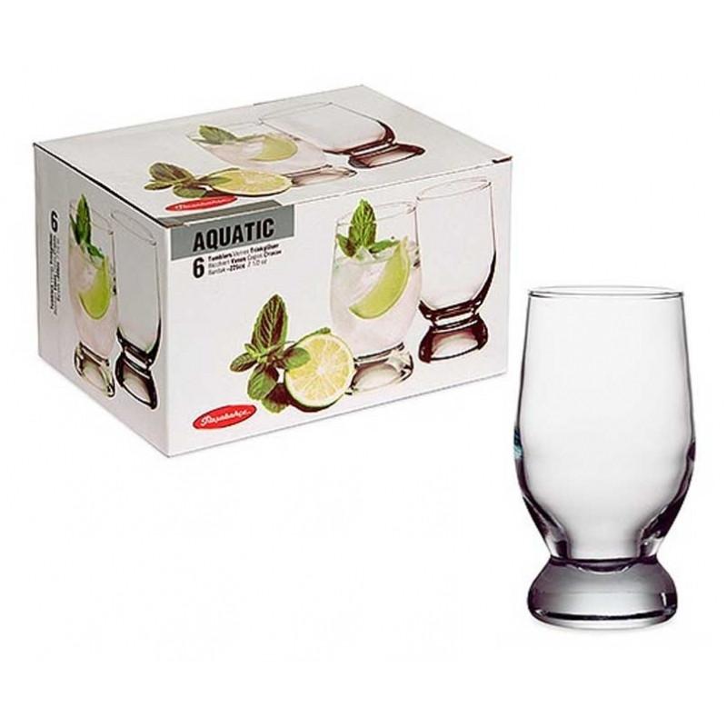 Набор стаканов Pasabahce Aquatik 42975 (315 мл, 6 шт)