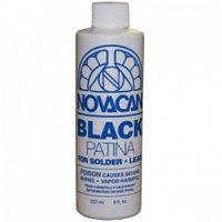 """Патина для олова, чёрная """"Novacan"""" 237 мл"""