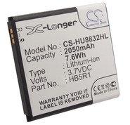 Заводской аккумулятор для HUAWEI Ascend G500D (HB5R1, 2050mAh)