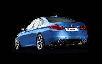 Титановая выхлопная система AKRAPOVIC на BMW M5 F10