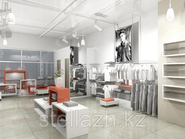 дизайн проект бутика
