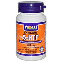 Гриффония 5-HTP , жевательные таблетки с цитрусовым вкусом, 100 мг, 90 шт. Now Foods БЕСПЛАТНАЯ ДОСТАВКА