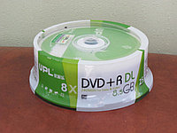 Диск DVD -R UPL DL 8,5 GB , Алматы
