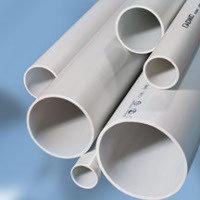 Труба ПВХ жёсткая атмосферостойкая д.20мм, тяжёлая, 3м, цвет серый