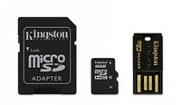 Карта памяти MicroSD 16GB Class 10 Kingston MBLY10G2/16GB