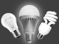 Соотношение мощности светодиодных и других ламп