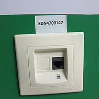 SDN4300147 Розетка RJ45 Компьютерная SEDNA Бежевая Schneider Electric