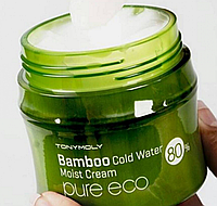 Bamboo Cold Water moist cream Pure eco/ Tony moly Легкий, питательный крем