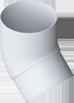 Водосточные системы Альта профиль Колено трубы 45