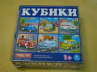 Кубики 9 элементов. Автомобили. Стеллар, фото 1