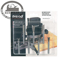 Фрезы Trend Dovetail Centre Cutter Set, 7штук