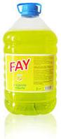 Жидкость для мытья посуды Fay 5 кг в бак.