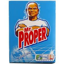 Универсальное чистящее средство (порошок) «Mr. Proper» 400 г