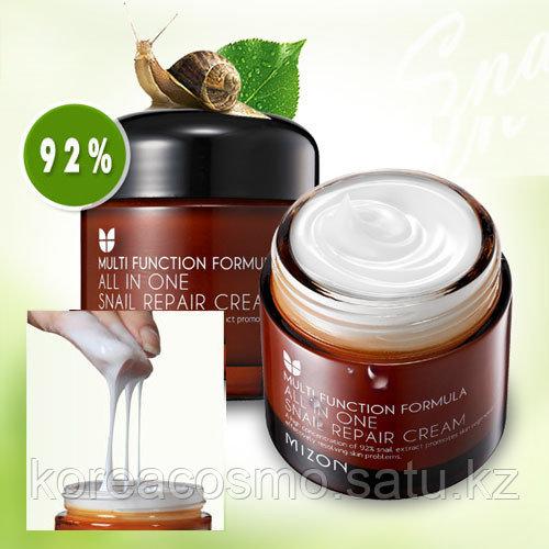 Mizon Восстанавливающий улиточный крем All In One Snail Repair Cream (75 мл)