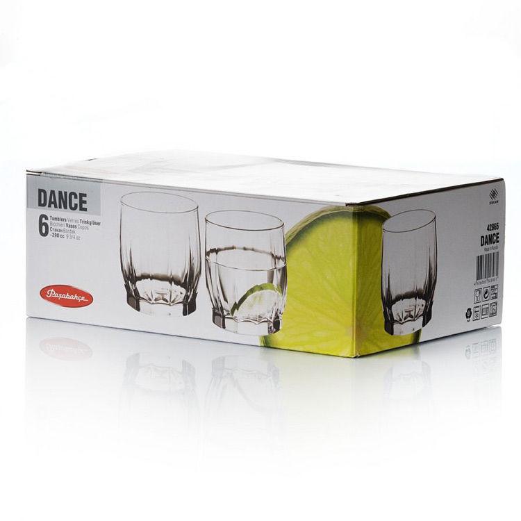 Набор стаканов Pasabahce Dance 6шт. 290 мл. (42865)