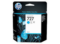 HP B3P19A Cyan Ink Cartridge №727 for DesignJet T1500/T2500/T920, 130 ml