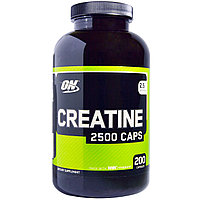 Креатин. Creatine 2500 Caps, 200 Capsules.Optimum Nutrition