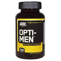 Витамины для мужчин. Opti-Men, 150 таблеток.  Optimum Nutrition, фото 1