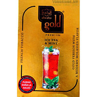 Табак для кальяна Al Waha Gold Ice Tea Mint (Айсти и мята) 50 гр