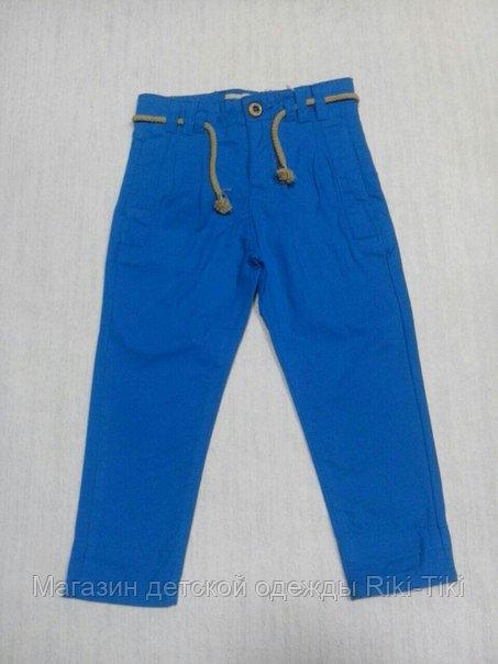 Яркие джинсы для мальчика