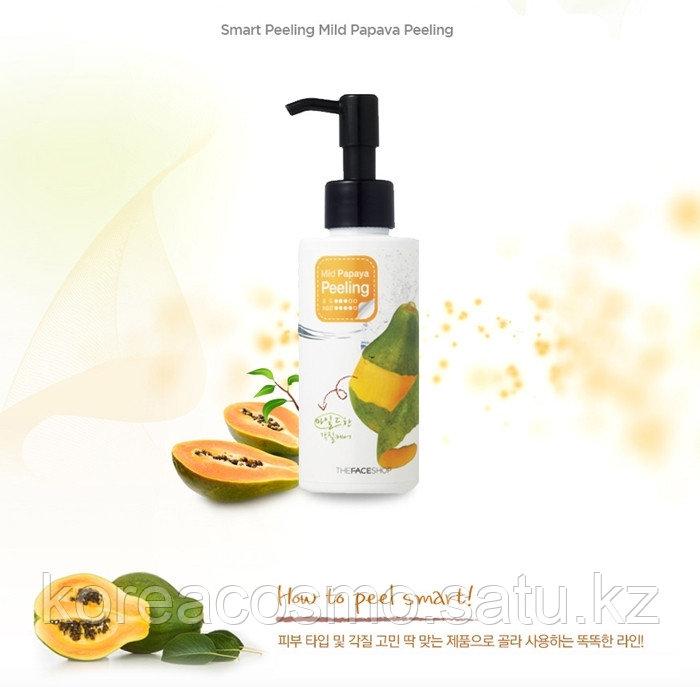 THE FACE SHOP - Пилинг-скатка для лица с экстрактом папайи Mild Papaya Peeling