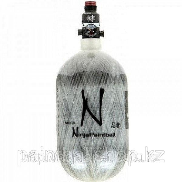 Баллон воздух Ninja PRO V2 68cu (1,1Л) 4500/300psi карбоновый