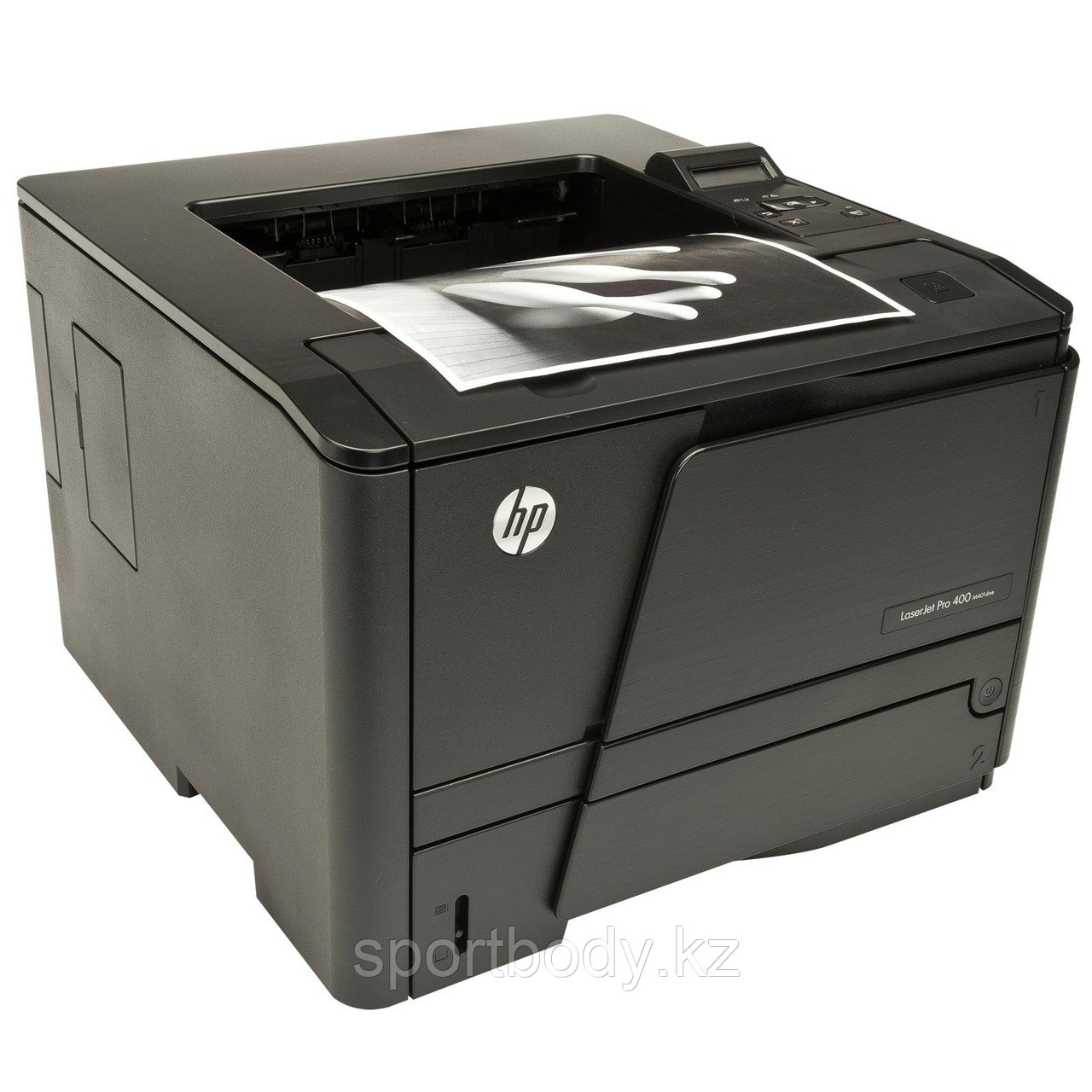 Принтер HP LaserJet Pro 400 M401dne (CF399A) (A4) 1200 dpi, 33 ppm, 256MB, 800Mhz, USB + Ethernet, ePrint, AirPrint, tray 50+250 pages, Duplex, LCD - Modern Computers в Алматы