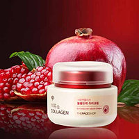 "Крем для лица ""Гранат и Коллаген"" THE FACE SHOP POMEGRANATE AND COLLAGEN VOLUME LIFTING CREAM"