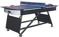 Игровой стол - трансформер «Maxi 2-in-1» 6 ф (теннис + аэрохоккей, 182,9 х 91,5 х 81,3 см), фото 1
