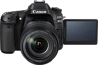 Фотоаппарат Canon EOS 80D kit 18-135 IS USM 2 года гаратия