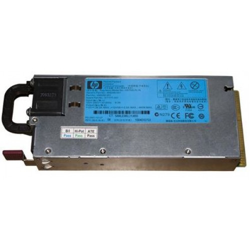 511804-001 Резервный блок питания HP 460-Watts Common Slot Platinum 12V Hot-Plug AC Power Supply for ProLiant BL280c/BL460c/BL280c G6 Server