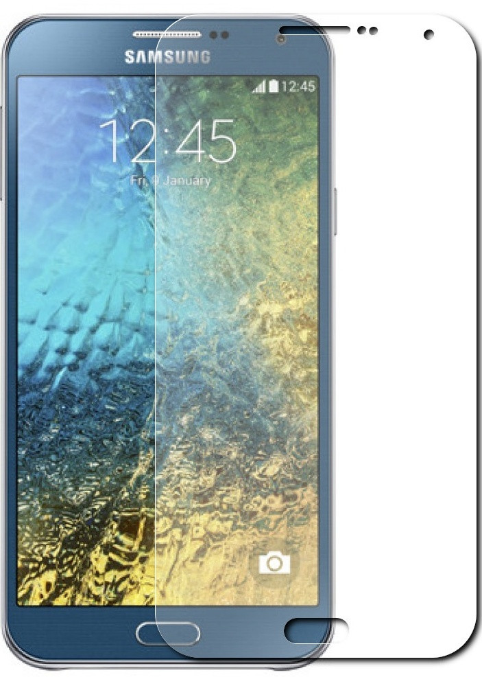 Противоударное защитное стекло Crystal на Samsung Galaxy E7 E700