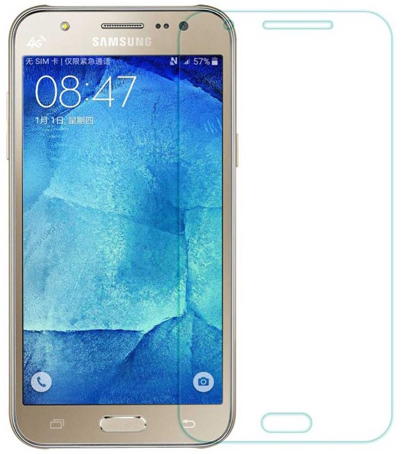 Противоударное защитное стекло Crystal на Samsung Galaxy ON5