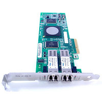 JF340 Сетевой Адаптер Dell (Qlogic) QLE2462-DELL PX2510401 2x4Гбит/сек Dual Port Fiber Channel HBA LP PCI-E4x